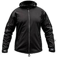 "Куртка SoftShell ""URBAN SCOUT"" BLACK, фото 2"