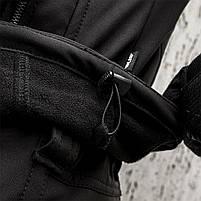 "Куртка SoftShell ""URBAN SCOUT"" BLACK, фото 7"