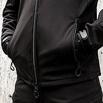 "Куртка SoftShell ""URBAN SCOUT"" BLACK, фото 8"