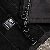 "Куртка SoftShell ""URBAN SCOUT"" BLACK, фото 9"