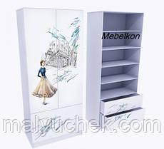 Шкаф Дама в голубом