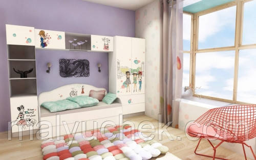 Подростковая комната Гламур