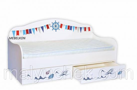 Кроватка диванчик Корабль