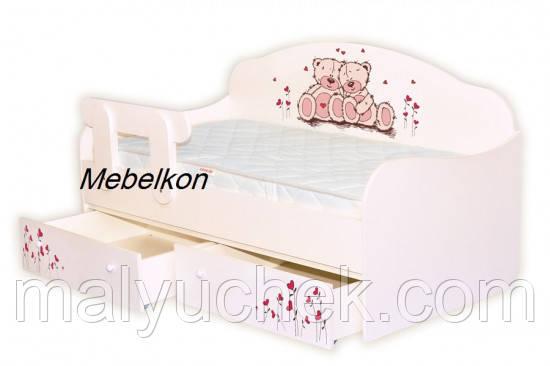 Кроватка диванчик Мишки