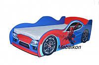 Кроватка машина Спайдермен, фото 1