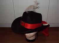 Фетровая шляпа, 58-60см, (460083)