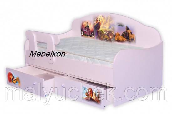 Кроватка Диванчик Король Лев