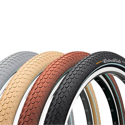 """Покрышка Continental RIDE Cruiser Reflex, 26""""x2.00, 50-559, Wire, ExtraPuncture Belt, 1000гр., коричневый, фото 2"""