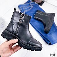 Ботинки женские Viza черные , женская обувь