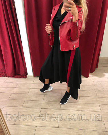 Куртка женская кожаная, фото 2