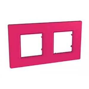 Рамка 2 пост. Unica Quadro Pink MGU4.704.27