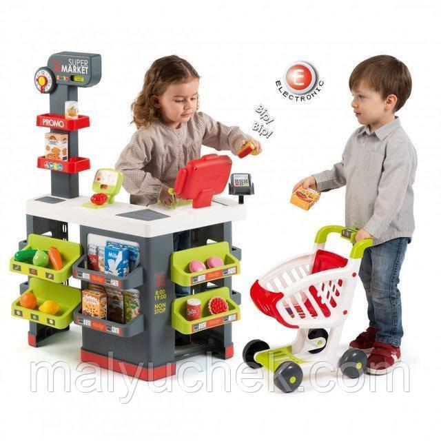 Детский супермаркет с электронной кассой Smoby 350213