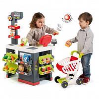Детский супермаркет с электронной кассой Smoby 350213, фото 1