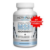 Уценка (Сроки до EXP 06.19) ActiValue MSM+vitamin C 180 caps