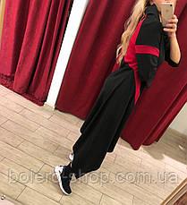 Черное платье с яркими полосами, фото 3