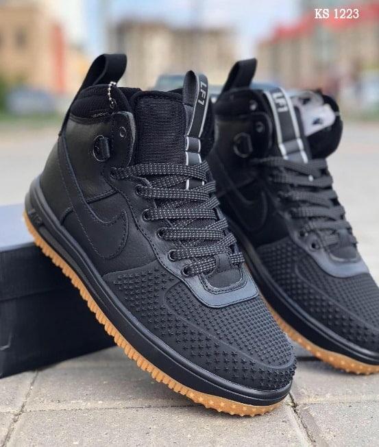 Мужские кроссовки Nike LF1 Duckboot (черные)