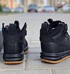 Мужские кроссовки Nike LF1 Duckboot (черные), фото 3