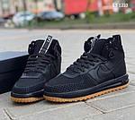 Мужские кроссовки Nike LF1 Duckboot (черные), фото 7