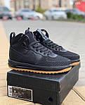 Мужские кроссовки Nike LF1 Duckboot (черные), фото 5