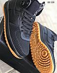 Мужские кроссовки Nike LF1 Duckboot (черные), фото 8