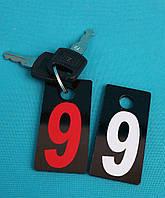 Брелок на ключи 60*30 мм