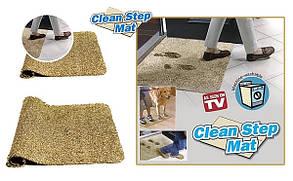 Супервпитывающий коврик Clean Step Mat, коврик грязезащитный