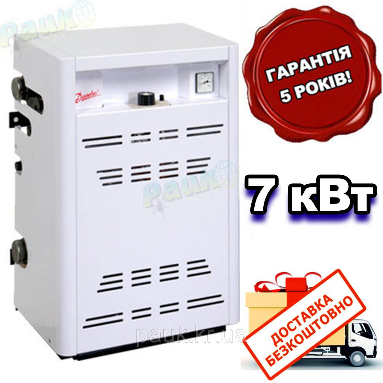 Газовый котел Данко 7УВ кВт(авт.SIT) парапетный, двухконтурный