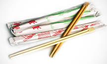 Бамбукові палички в упаковці 24 см