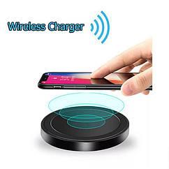 Мини Qi беспроводное зарядное устройство для мобильного телефона 5 Вт