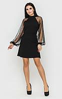Вечернее короткое платье (черное)