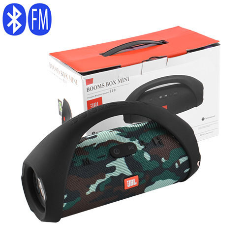 Портативна Bluetooth-колонки JBL BOOM BOX mini E10 Репліка, c функцією PowerBank,speakerphone,радіо