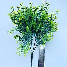 Искусственная мимоза. Куст декоративной мимозы.(35 см), фото 3