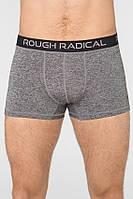 Мужские спортивные трусы-боксеры Radical Bomber L Серые (r0719)