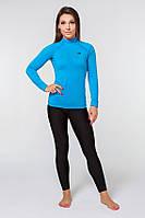 Термобелье спортивное женское Radical Acres L Черный с голубым (r0445)
