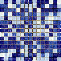 Мозаика Stella di Mare R-MOS MIX B11243736 синий на папері 20x20