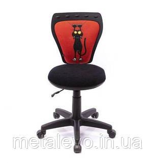 Детское кресло поворотное Министайл Кот красный (Ministyle) Nowy Styl PL OV, фото 2