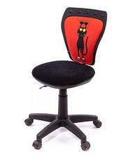Детское кресло поворотное Министайл Кот красный (Ministyle) Nowy Styl PL OV, фото 3
