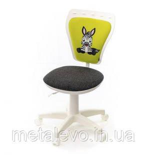 Детское кресло поворотное Министайл Зебра white (Ministyle white) Nowy Styl PL OV, фото 2