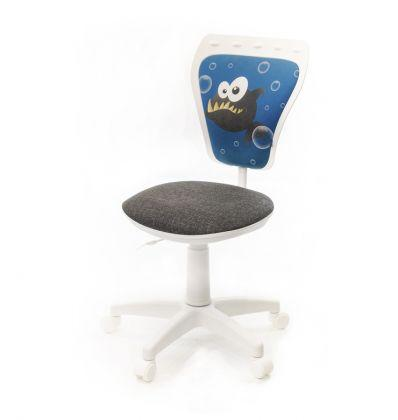 Детское кресло поворотное Министайл Фиш white (Ministyle white) Nowy Styl PL OV
