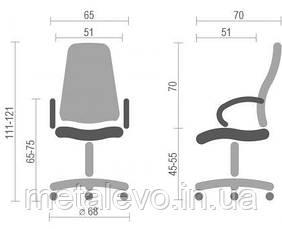 Офисное кресло для руководителя Босс КД (Boss KD) Nowy Styl PL TILT, фото 3
