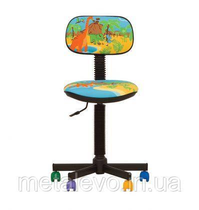 Детское кресло поворотное Бамбо Дино (Bambo) Nowy Styl PL GTS OV, фото 2
