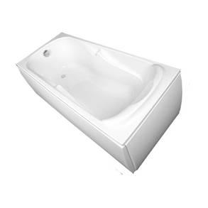 Ванна Vagnerplast Charitka VPBA170CHA2X-04/VPBA175CHA2X-01 170x75 см, фото 2