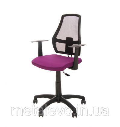 Детское кресло поворотное с сетчатой спинкой Фокс 12 (Fox12) Nowy Styl PL GTP OV ZT-24