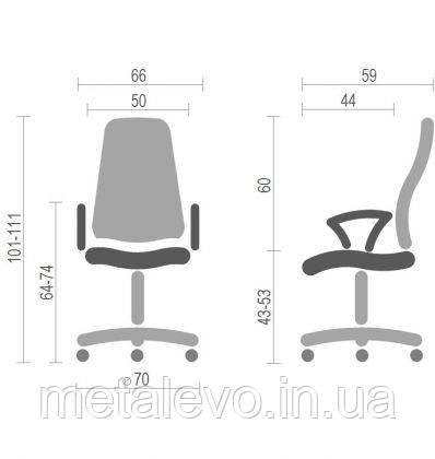 Кресло Эволюшн (Evolution) Nowy Styl CH GTP SR(L) FJ/С, фото 2