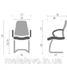 Кресло Честер Nowy Styl CH CF ECO-30, фото 3