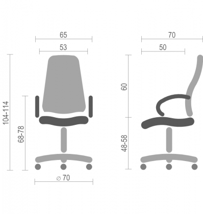 Офисное кресло для руководителя Круиз (Cruise) Nowy Styl PL ANF, фото 2