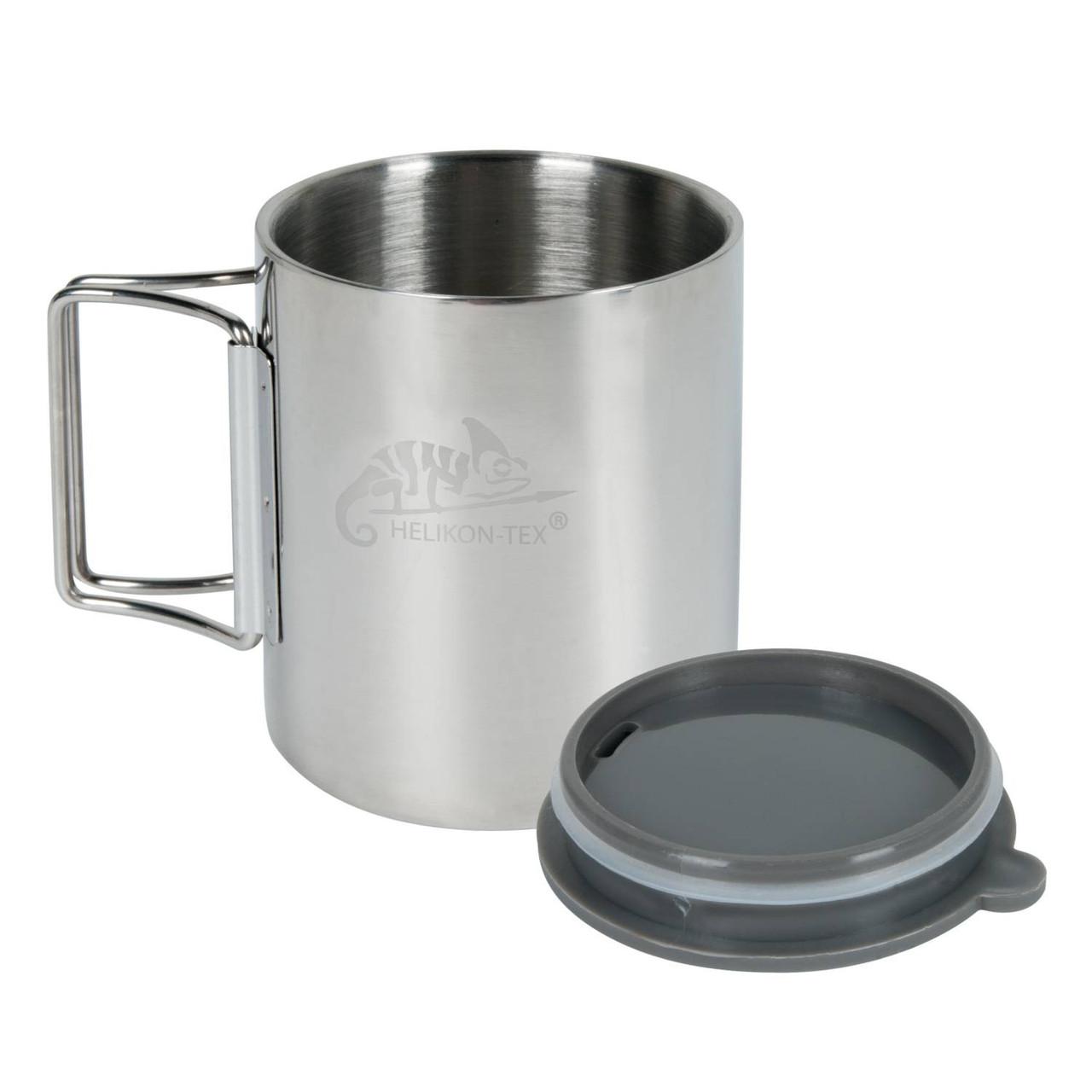 Термокружка Helikon-Tex® Thermo Cup - Stainless Steel - Стальной