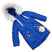Зимняя куртка парка для девочки  интернет магазин  24-30 персиковый, фото 6