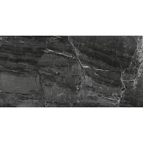Керамогранит Almera Ceramica 6129CP CASCATA BLACK, фото 2