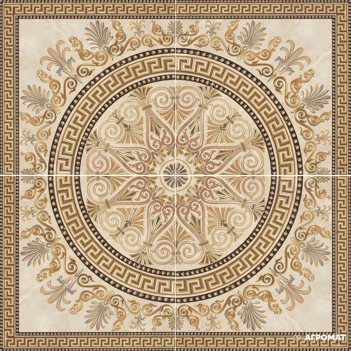 Плитка облицовочная APE Ceramica ROSETON NARON декор4